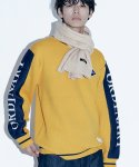 TWO-TONE ORDINARY KNIT(YELLOW)