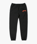 College Sweat Pants - Black