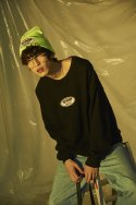 언라이크룩(UNLIKELOOK) LABEL BEANIE (NEON)
