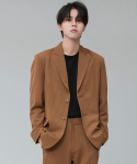 SIESTA BASIC JACKET [BROWN]