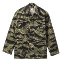 Stan Ray 1903J Tiger Camo Rip-Stop 4 Pocket Military Fatigue Jacket