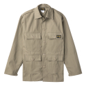 Stan Ray 1969J Khaki Rip-Stop 4 Pocket Military Fatigue Jacket