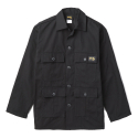 Stan Ray 1979J Black Rip-Stop 4 Pocket Military Fatigue Jacket