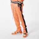 FNTY Satin checkerboard pants ORANGE