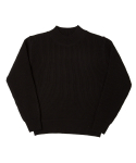 MIL CREW KNIT(FOR WINTER)-BLACK