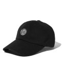 엘엠씨() BUTTON RUBBER PATCH 6PANEL CAP black