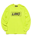 엘엠씨() LMC MIXED LOGO LONG SLEEVE TEE neon green