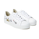 [HA.TISS] ROY LICHTENSTIN WHITE SNEAKERS