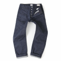 아웃스탠딩(OUTSTANDING) US NAVAL HEMP DENIM TROUSERS[INDIGO]