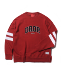 크리틱() DROP SWEAT SHIRT(RED)_CTOEACR07UR0