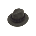 제너럴 아이디어(GENERAL IDEA) G7W11001 - WOOL FEDORA HAT[CHARCOAL]