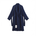 세븐티스튜디오(SEVENTYSTUDIO) SV-039 WOVEN INDIGO LONG JACKET