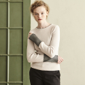 METAL LINE POINT KNIT_IVORY