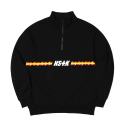 네스티킥(NASTYKICK) [NSTK] FLAME FURY ZIP-UP NECK (BLK)