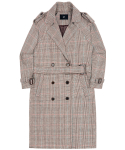 Serendipity Trench Coat - Brown