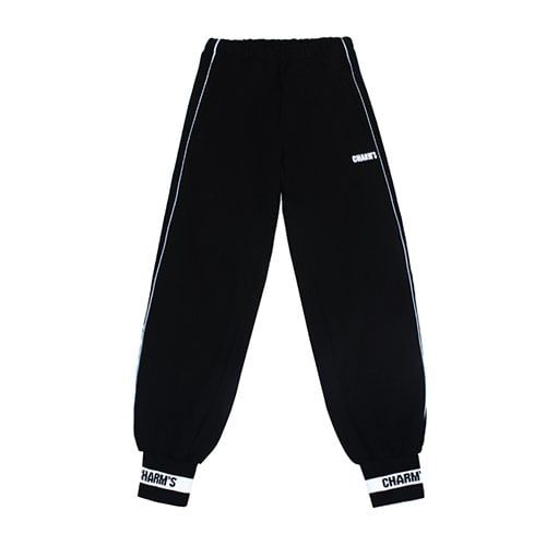 참스(CHARM'S) BLACK SWEATPANTS