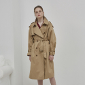 OVERSIZE TRENCH COAT BEIGE