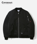 커버낫(COVERNAT) MA-1 JACKET BLACK