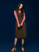 미드나잇 서커스(MIDNIGHT CIRCUS) Smock Banding Check Dress