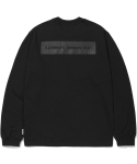 라이풀() SLOGAN LONG SLEEVE black