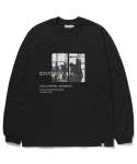 라이풀() REYKJAVIK PHOTO LONG SLEEVE black