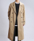 Trench Oversize Coat (Beige)