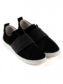 suede rope shoes [black]
