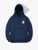 해브 어 굿 타임(HAVE A GOOD TIME) Mini Frame Pullover Hoodie - Navy