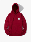 해브 어 굿 타임(HAVE A GOOD TIME) Mini Frame Pullover Hoodie - Burgundy