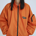 pocket training jumper(orange)