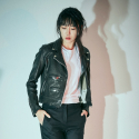 에스알에스티(SRST) Washed vegetable lamb leather double rider jacket Black