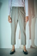 에스알에스티(SRST) Slim fit trouser Oatmeal