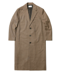 인사일런스() Wool Single Long Coat