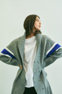 [UNISEX] UPPER ARM CARDIGAN GREY