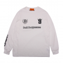 덕다이브(DUCKDIVE) [DUCKDIVE]FOOTBALL LONG SLEEVE-WHITE