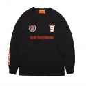 덕다이브() [DUCKDIVE]FOOTBALL LONG SLEEVE-BLACK
