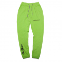 덕다이브() [DUCKDIVE]FOOTBALL J0GGER PANTS-NEON GREEN