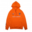 덕다이브() [DUCKDIVE]FOOTBALL HOODIE-ORANGE