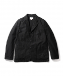 에스피오나지(ESPIONAGE) Merlin Sack Coat Black