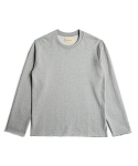 매료(MAERYO) OVERSIZED RAW EDGE SWEATSHIRTS - MELANGE
