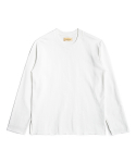 매료(MAERYO) OVERSIZED RAW EDGE SWEATSHIRTS - IVORY