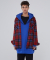 인디고칠드런(INDIGO CHILDREN) OVERSIZED CHECK SHIRT JACKET [RED]
