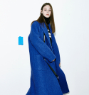 Oversize Double Pocket Coat (BL)