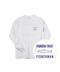 빅웨이브 컬렉티브(BIGWAVE COLLECTIVE) RAINBOW TROUT FISHERMAN TEE