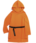 RAW SAILOR LONG HOODIE (ORANGE)