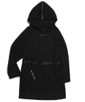 RAW SAILOR LONG HOODIE (BLACK)