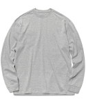 페이브먼트(PAVEMENT) PAVEMENT LONG SLEEVE GA [MELANGE GREY]