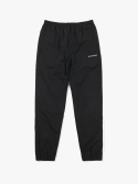 Side Logo Nylon Track Pants - Black