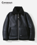 커버낫() B-6 MOUTON JACKET BLACK