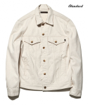 DV. LOT495 DENIM TRUCKER JKT TYPE.3 -WHITE OAK-